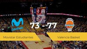 El Valencia Basket logra la victoria frente al Movistar Estudiantes por 73-77