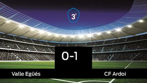 El Valle Egüés cae derrotado frente al CF Ardoi por 0-1