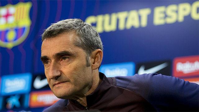 Valverde: Me siento apoyado por el club