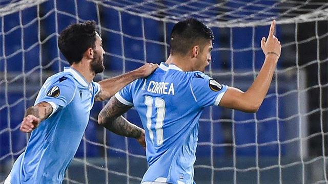 Victoria por la mínima de la Lazio ante el Cluj