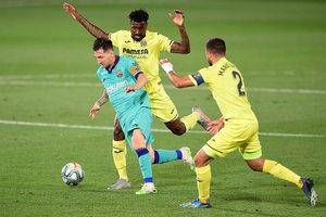El Villarreal cayó fuertemente derrotado ante el Barcelona en la última fecha