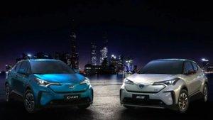 Toyota C-HR eléctrico para el mercado chino.