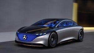 Mercedes-Benz Vision EQS.