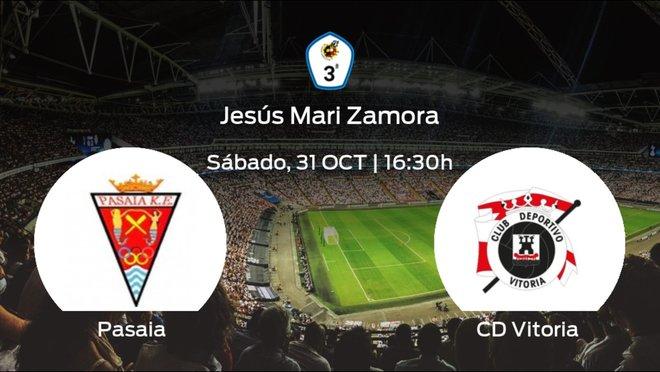 Jornada 3 de la Tercera División: previa del duelo Pasaia KE - CD Vitoria
