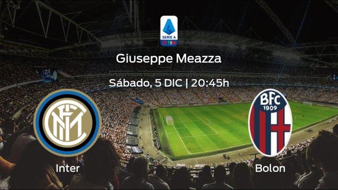Jornada 10 de la Serie A: previa del encuentro Inter - Bolonia