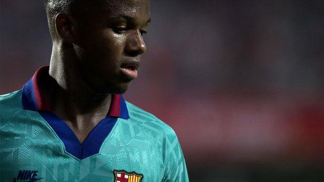 Ansu Fati le puso ganas durante el rato que estuvo en el terreno de juego