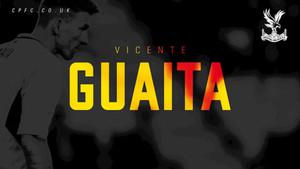 Así presenta el Crystal Palace a Vicente Guaita