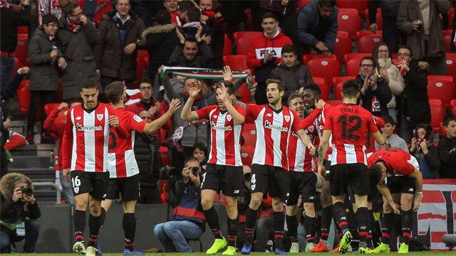El Athletic coge aire tras conseguir la victoria ante el Sevilla