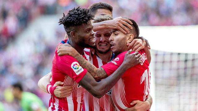 El Atlético de Madrid sigue con la buena racha ante el Betis