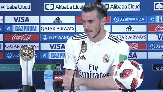 Bale fue elegido MVP del partido