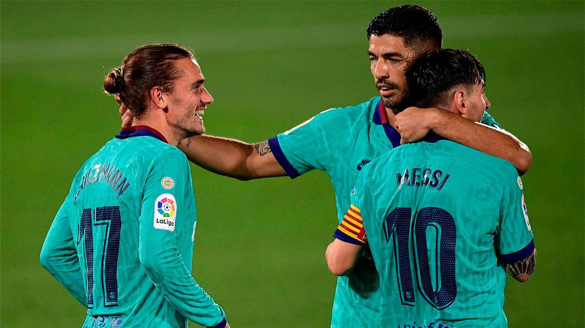 El Barça hizo añicos La Cerámica con una goleada