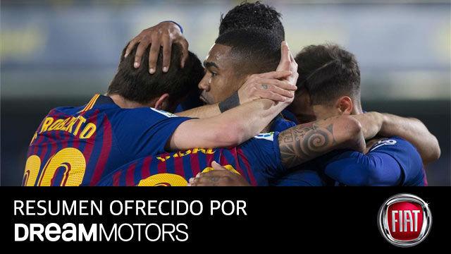 El Barça tira de épica para empatar en Villarreal