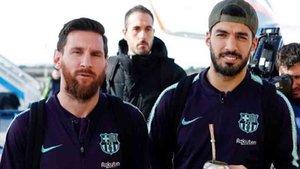 El Barcelona ya está en Valencia