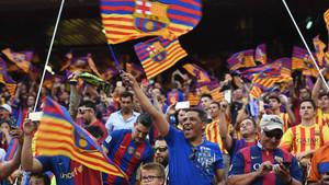 El barcelonismo espera celebrar este sábado un nuevo título