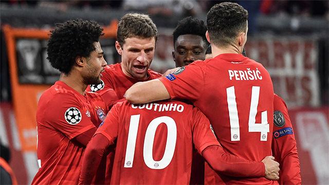 El Bayern bate al Tottenham y consigue el pleno de puntos