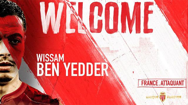 Ben Yedder ya entrena con el Mónaco