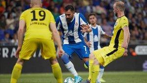 Borja Iglesias será de nuevo el hombre más adelantado del Espanyol junto a Facundo Ferreyra.