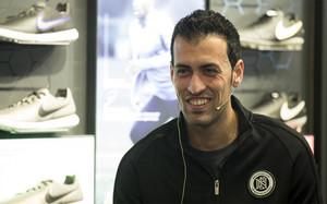 Un Busquets feliz y relajado repasó toda la actualidad a nivel Barça y a nivel personal