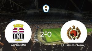 El Cartagena B consigue la victoria en casa frente al Huércal-Overa (2-0)