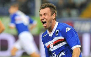 Cassano has previously donned La Samps shirt