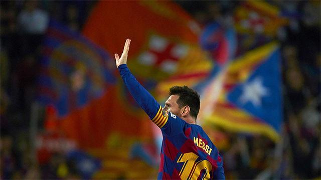 Control de escándalo en el segundo gol de Messi ante el Valladolid