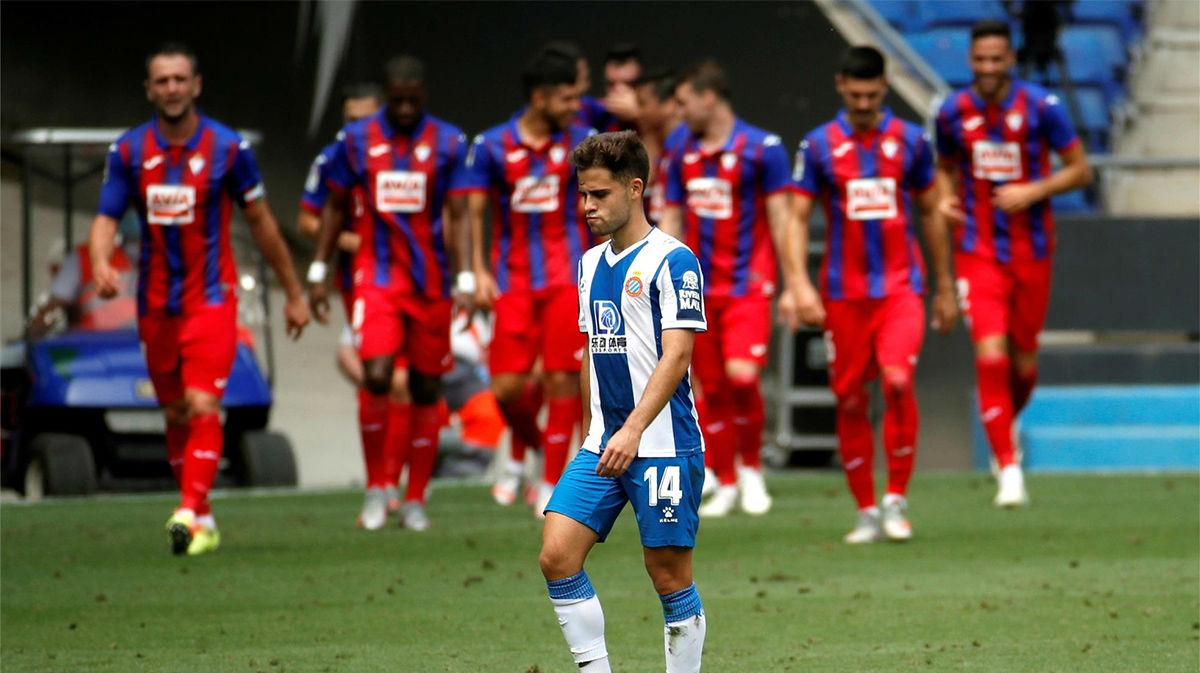 El Espanyol allana el camino de la salvación del Eibar