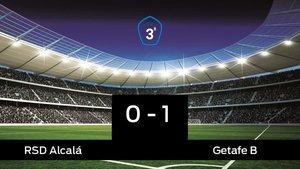 El Getafe B gana por 0-1 al RAlcalá