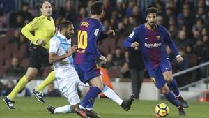 Goleada del FC Barcelona al Deportivo (4-0) en la jornada 16