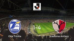Goleada del Kashima Antlers en el estadio del Oita Trinita (1-4)