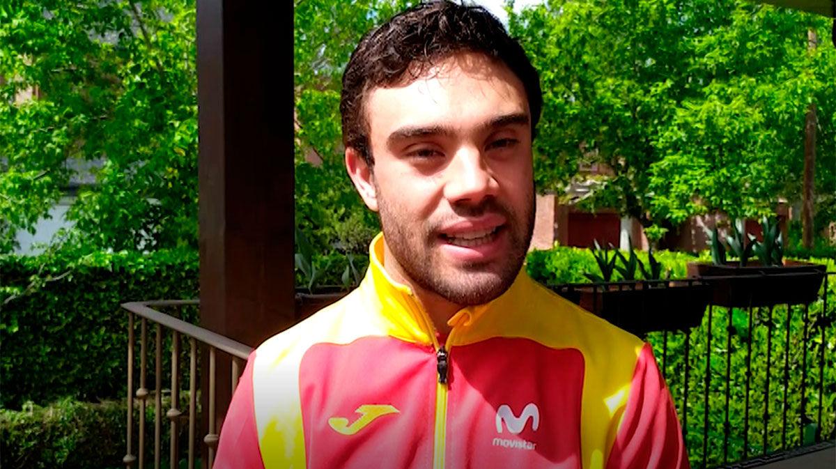 Gonzalo García Abella explica cómo está entrenando durante el confinamiento