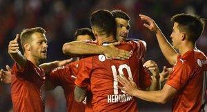 Independiente de Avellaneda llegó al cuarto lugar de la Superliga Argentina