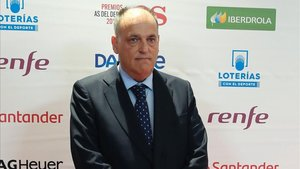 Javier Tebas hizo balance ante los medios