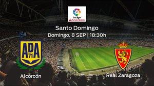 Jornada 4 de la Segunda División: previa del duelo Alcorcón - Real Zaragoza