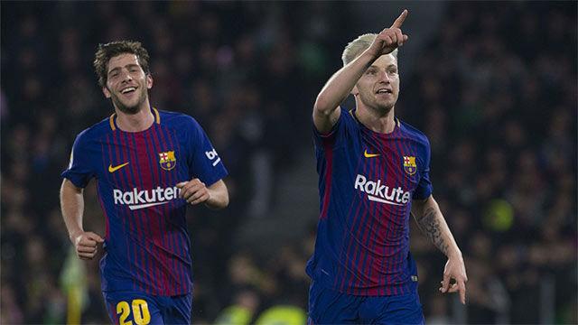 LALIGA | Betis - FC Barcelona (0-5): Rakitic abrió la lata