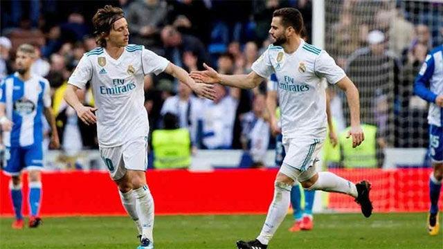 LALIGA | Real Madrid - Deportivo (7-1): Modric marcó el cuarto