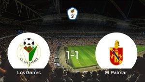 El Los Garres contiene a El Palmar en su estadio (1-1)