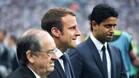 Macron ha invitado a Kylian Mbappé, del PSG