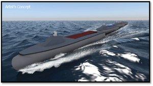 La Marina de Estados Unidos plantea crear un tren marítimo