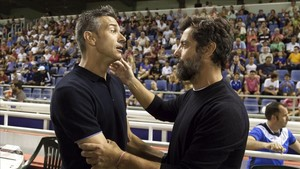 Martí y Quique, los entrenadores del Tenerife y Espanyol
