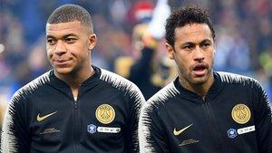 Mbappé y Neymar, una relación deteriorada