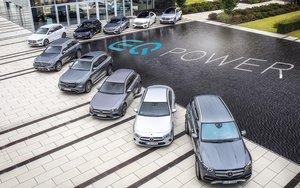 Mercedes-Benz híbridos enchufables.