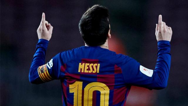 Messi celebra sus 500 victorias con doblete