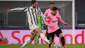 Messi logró su primera victoria con el Barça ante la Juventus en Turín