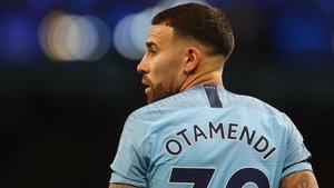 Otamendi llegó al Manchester City en 2015