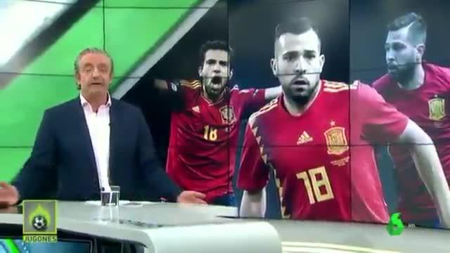 Pedrerol invita a Luis Enrique a convocar a Jordi Alba
