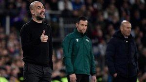 Pep Guardiola hizo historia con su victoria ante el Real Madrid al frente del Manchester City