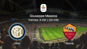 Previa del partido: el Inter recibe a la Roma en la decimoquinta jornada