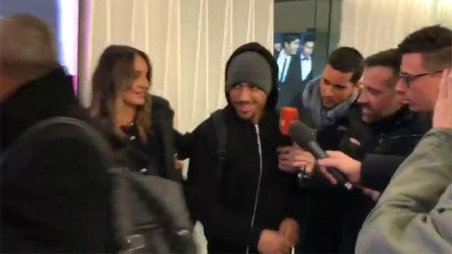 Rafinha, a su llegada a Milán