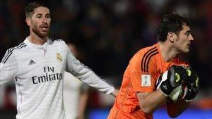 Ramos y Casillas compartieron vestuario en el Real Madrid