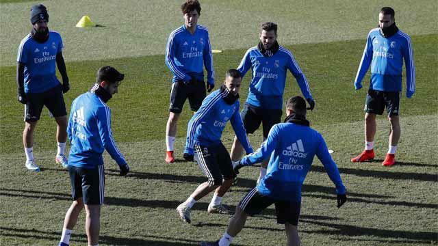 El Real Madrid comienza a preparar el clásico de Copa